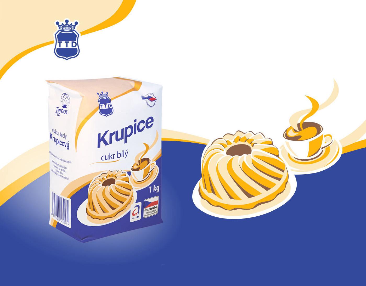 Obalový design - Tereos TTD cukr Krupice