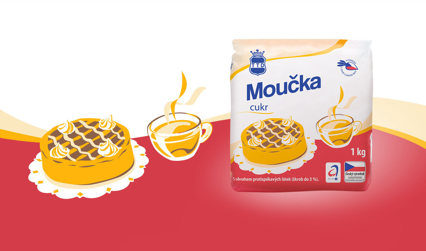 Obalový design - Tereos TTD cukr Moučka