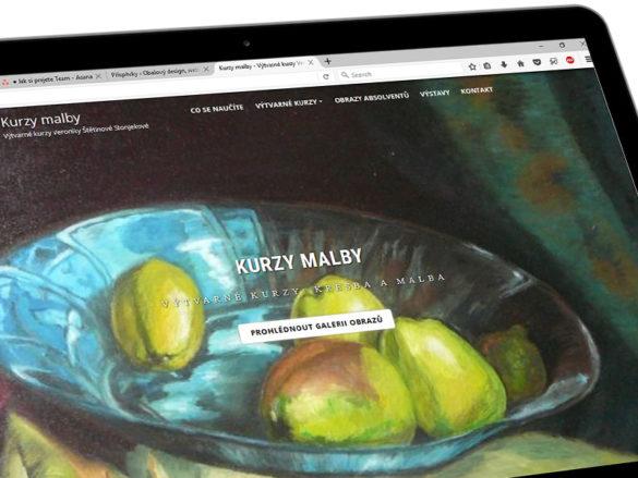 Webové stránky pro ženu